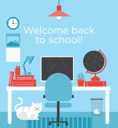Welcome Back to School! E-Card