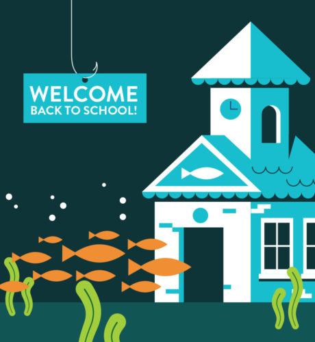 School of Fish E-Card