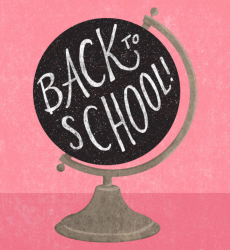 Back to School! E-Card