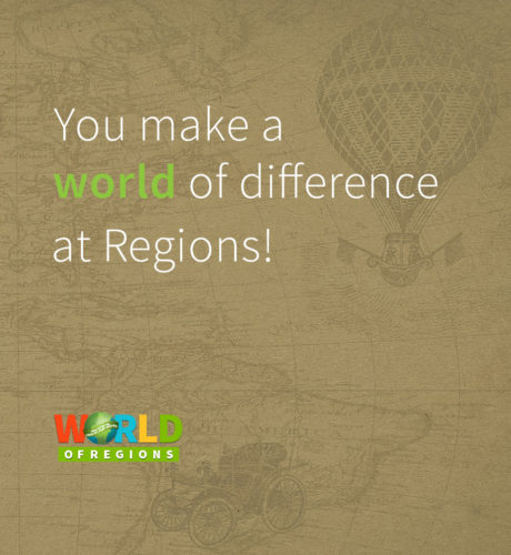 You make a world of difference at Regions E-Card