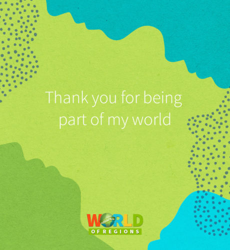 Thank you for being part of my world E-Card