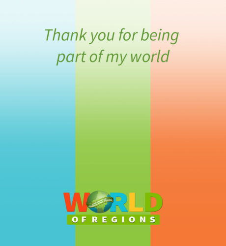 World of Regions E-Card