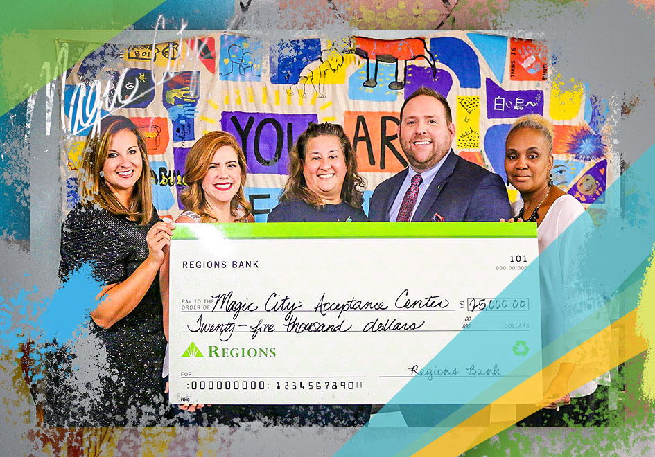 Regions' donation will support an extensive series of workshops designed to empower youth through financial education and career guidance.