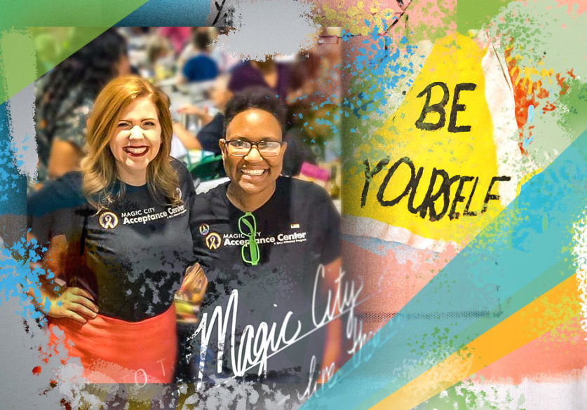 Amanda Keller, director of the Magic City Acceptance Center, and Lauren Jacobs, youth outreach coordinator, are developing curriculum to reach LGBTQ youth with career guidance, financial education and more.