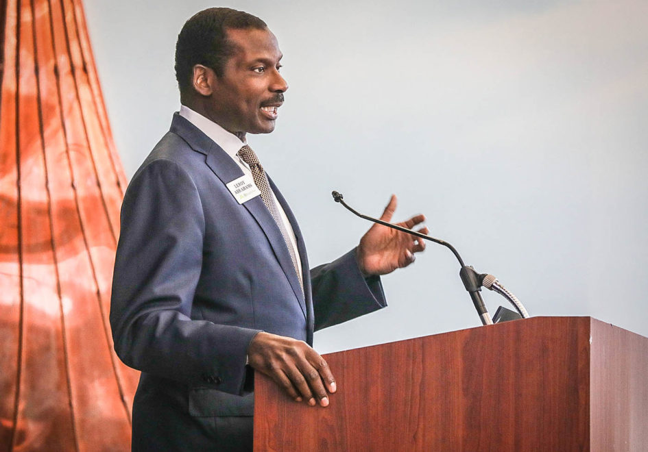 Leroy Abrahams, Head of Community Affairs for Regions, highlights the bank's focus on advancing economic development and workforce readiness initiatives.