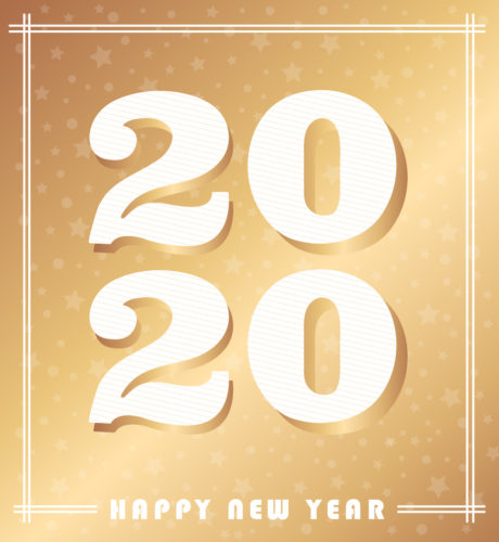Happy New Year 2020 E-Card