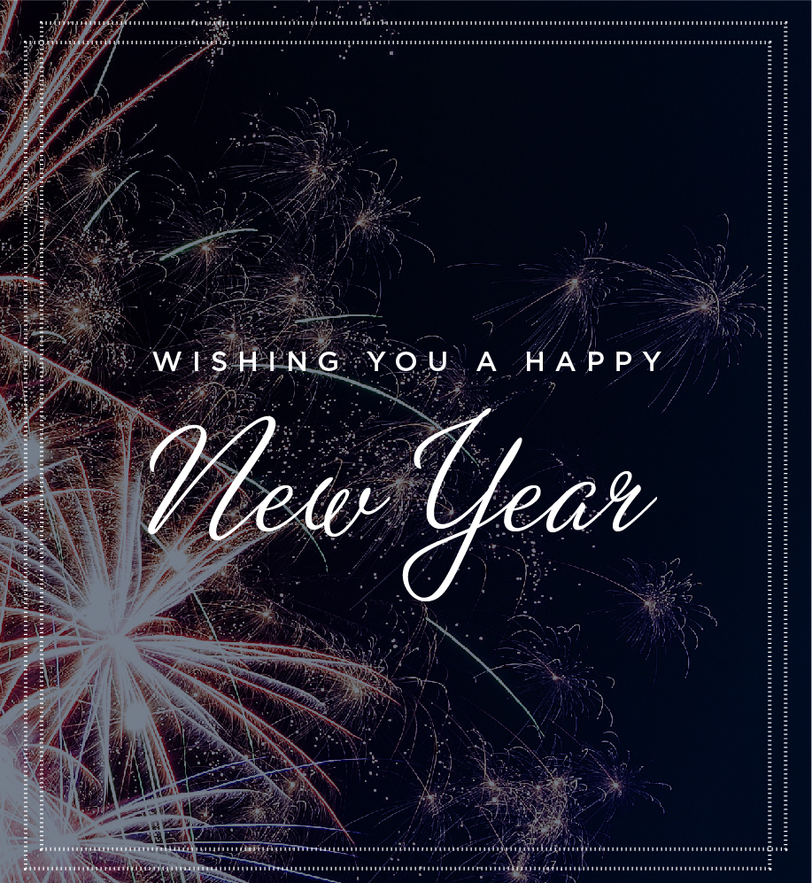 Wishing You a Happy New Year E-Card