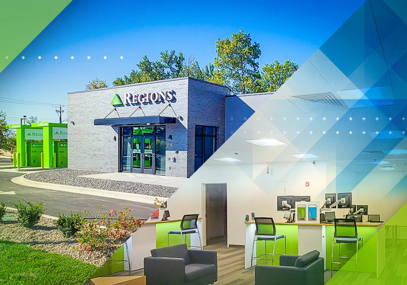 Expanded Access. More Personal Service. Regions Bank Announces Modern Carbondale, Ill., Branch