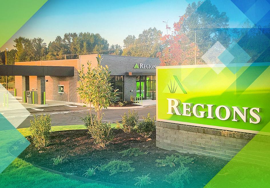 Expanding to Arlington: Regions Unveils its Latest Memphis-Area Investment