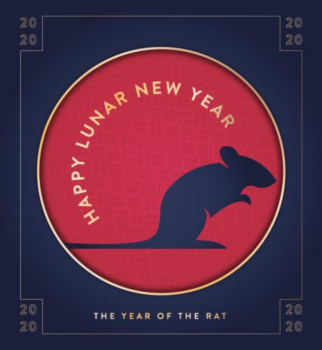Happy Lunar New Year 2020 E-Card