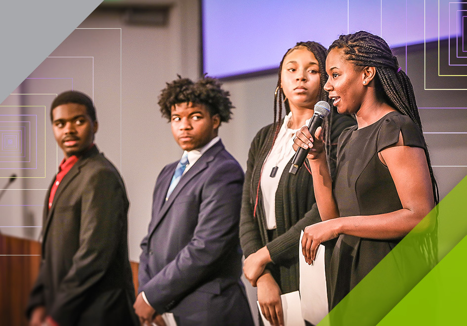 Students delivered timely and effective comments, raising awareness of issues important to their generation while listening to feedback from Secretary Rice and other leaders.