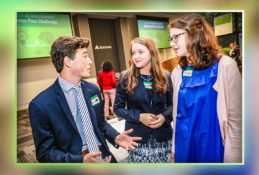 High school students from Metro Birmingham share thoughts after attending the JA BizPlan Challenge, held at Regions headquarters in 2019.