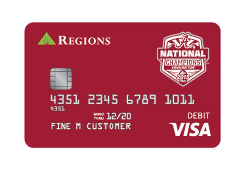 Alabama CFP National Champions CheckCard