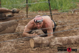Glenn Nash Crawling Under Barbwire