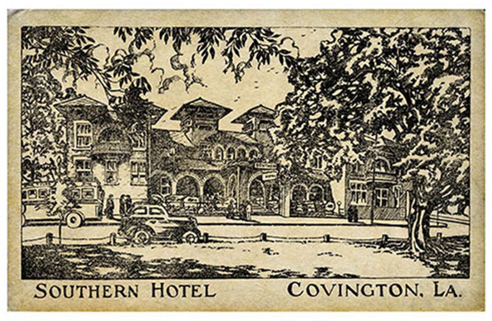 Covington Postcard