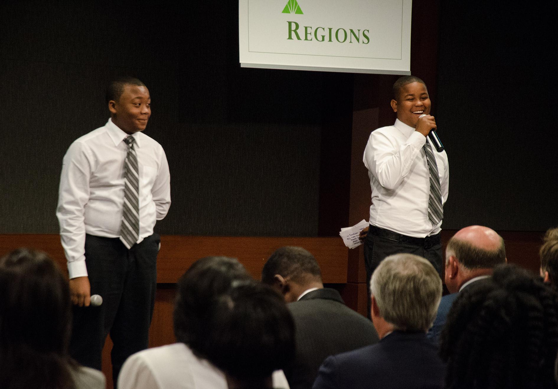 Participants in Birmingham City Schools' GEAR UP grant program
