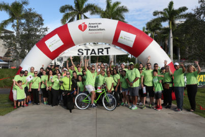 Miami American Heart Association Walk