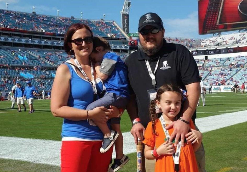 David and Family at the Florida Game