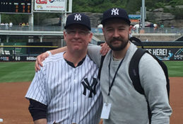 Gerald Watkins and his son, Jack