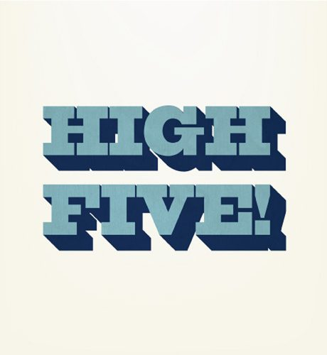 High Five E-Card