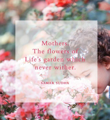 Flowers of Life's Garden E-Card