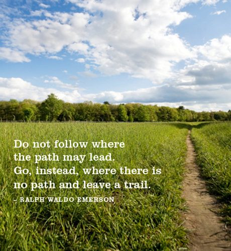 Leave a Trail E-Card