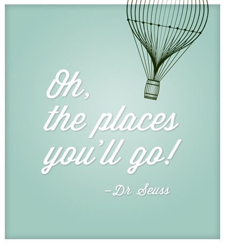 Oh, the Places You'll Go E-Card