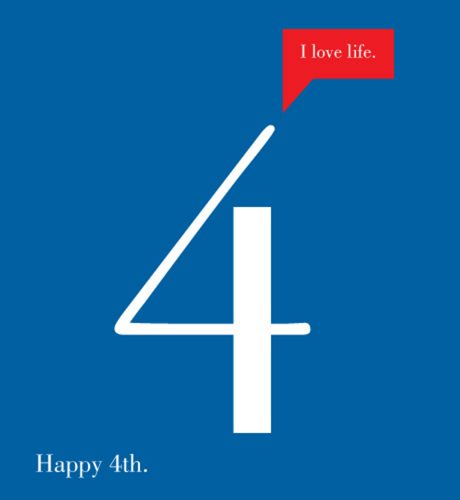Happy 4th E-Card