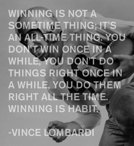 Vince Lombardi E-Card