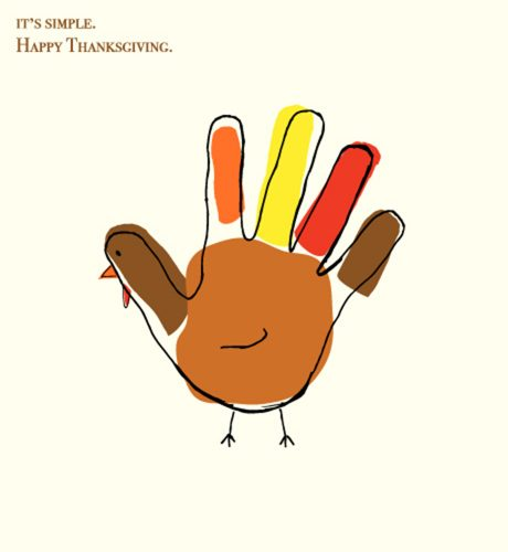 Happy Thanksgiving E-Card