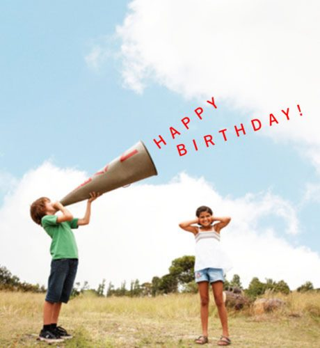 Mega Birthday E-Card