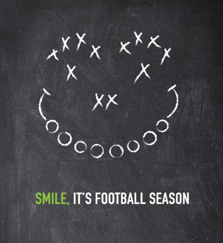 Smile for Football Season E-Card