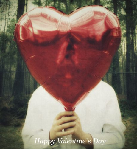 Heart Balloon E-Card