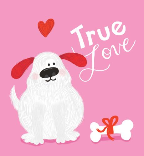 Puppy Love E-Card