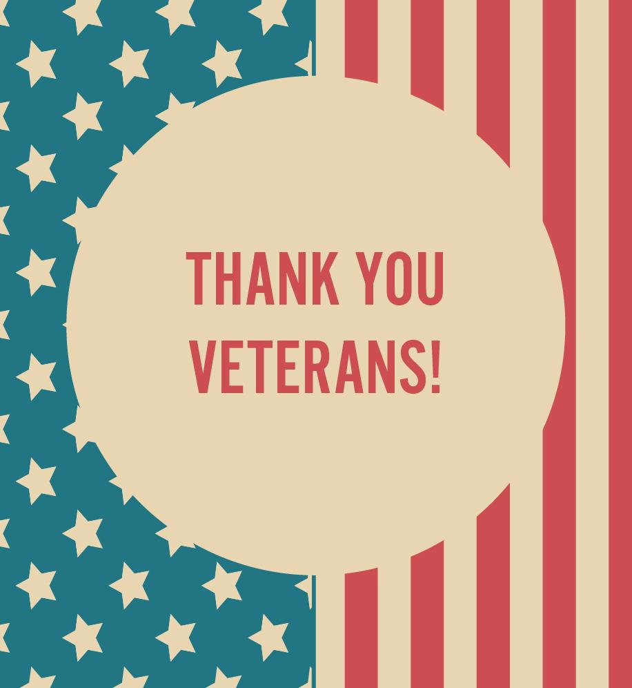 Thank You Veterans E-Card