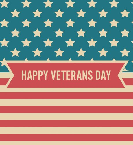 Happy Veterans Day Flag E-Card