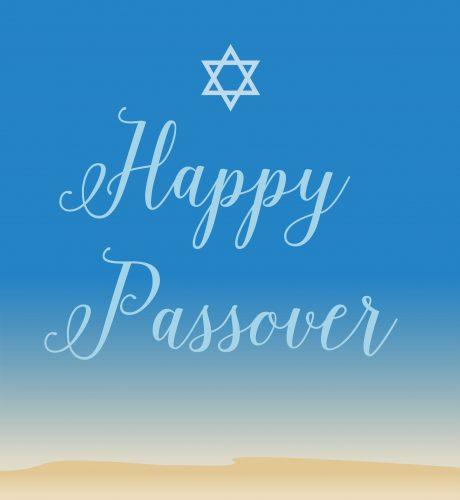 Passover Sand E-Card