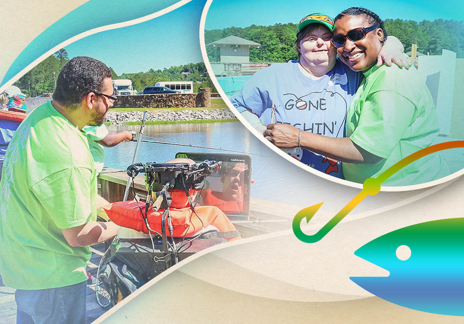 The nonprofit organization United Ability works every day to empower people to overcome limitations and discover new abilities. On this day, the classroom was the lakefront – where volunteers from corporate partners made lasting connections with United Ability participants.