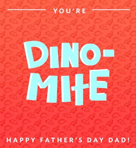 Dino-Mite E-Card